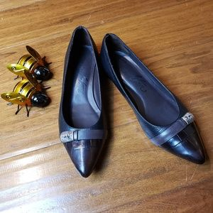 Take 50% OFF Brighton Two-toned Flats
